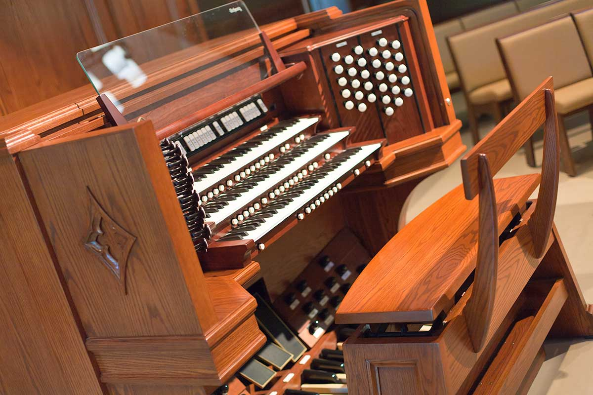 Console - The Schantz Organ Company | Pipe Organ Console
