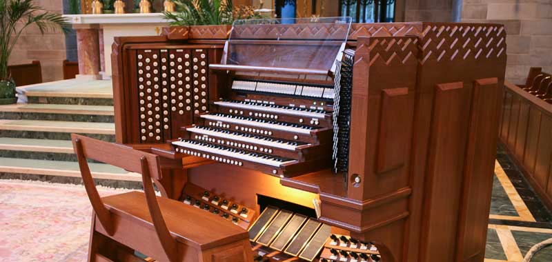 Console The Schantz Organ Company Pipe Organ Console