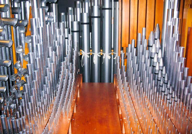 Pipe Organ Restoration in Orrville, Ohio